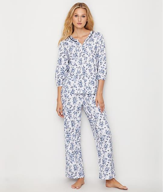 Karen Neuburger: Floral Knit Pajama Set
