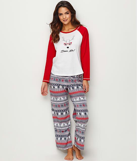 Karen Neuburger: Deer Me! Fleece Pajama Set