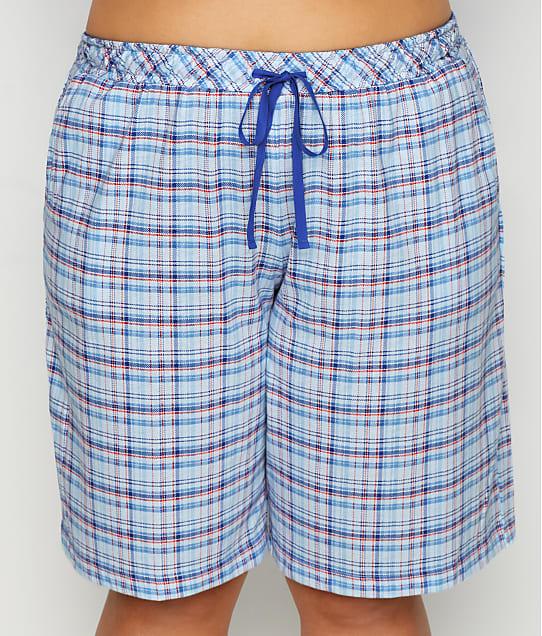 Karen Neuburger: Plus Size Knit Bermuda Shorts
