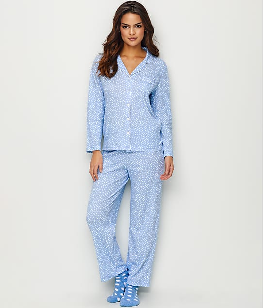 Karen Neuburger: Snowy Day Knit Pajama Set