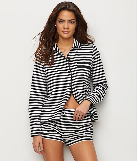 kate spade new york: Flannel Pajama Short Set