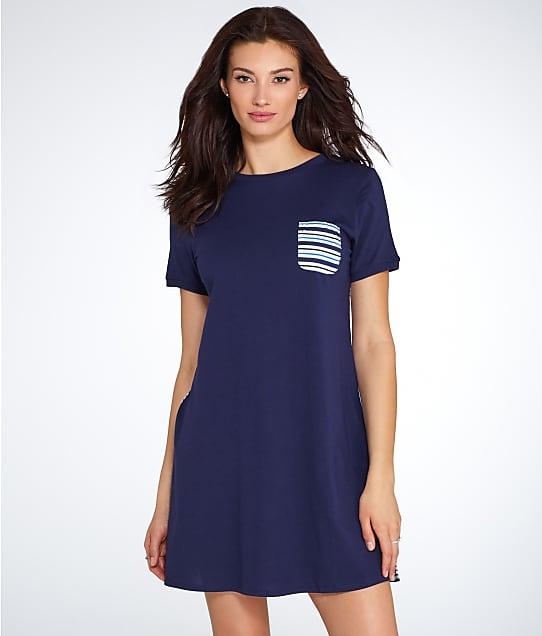 kate spade new york: Stripe Knit Sleep Shirt