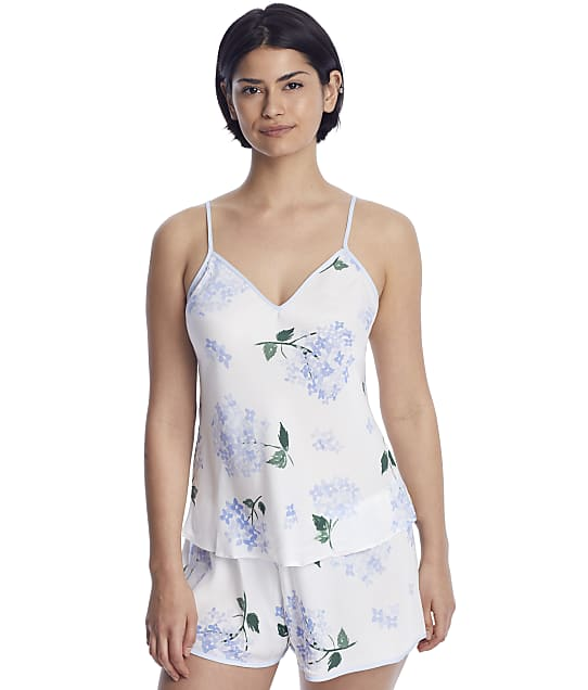 kate spade new york: White Floral Charmeuse Camisole Set