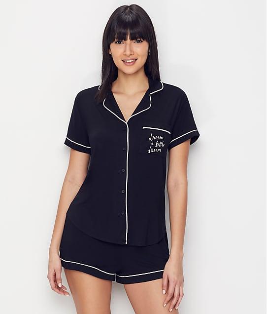 kate spade new york Dreamer Modal Pajama Set in Black KS11506F