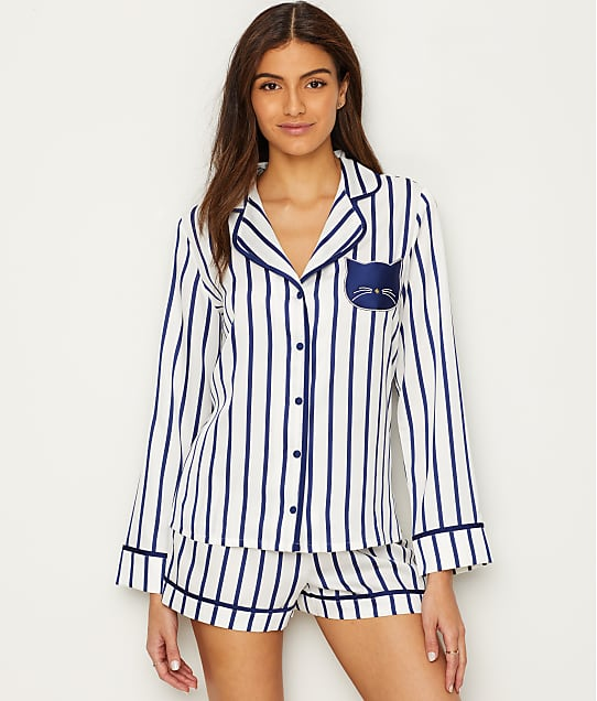 718d56a221 kate spade new york Cat Charmeuse Pajama Set