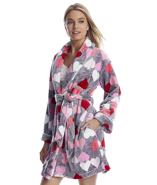 kate spade new york: Heart Chenille Robe