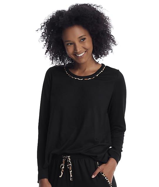 kate spade new york: Black Knit Lounge Top