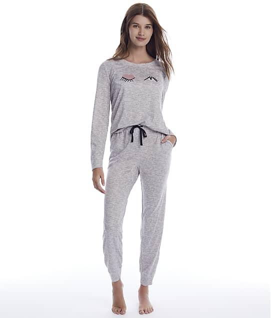 kate spade new york: Heather Grey Sweater Knit Pajama Set