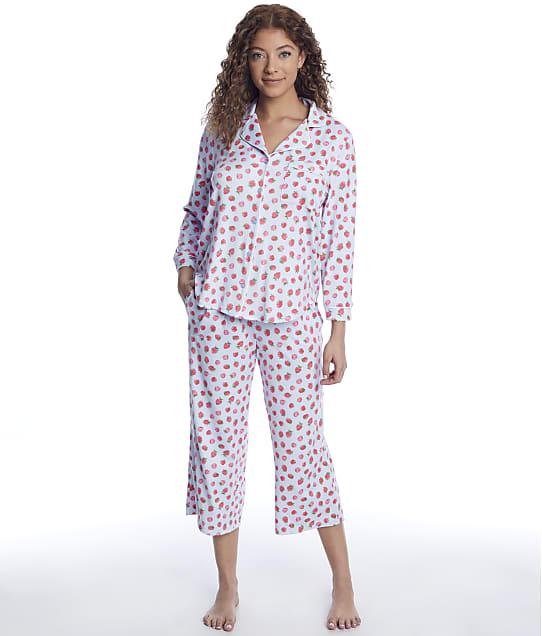 kate spade new york: Classic Knit Cropped Pajama Set