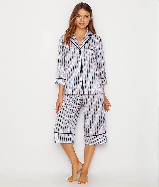 3243520bc13 kate spade new york Charmeuse Cropped Pajama Set