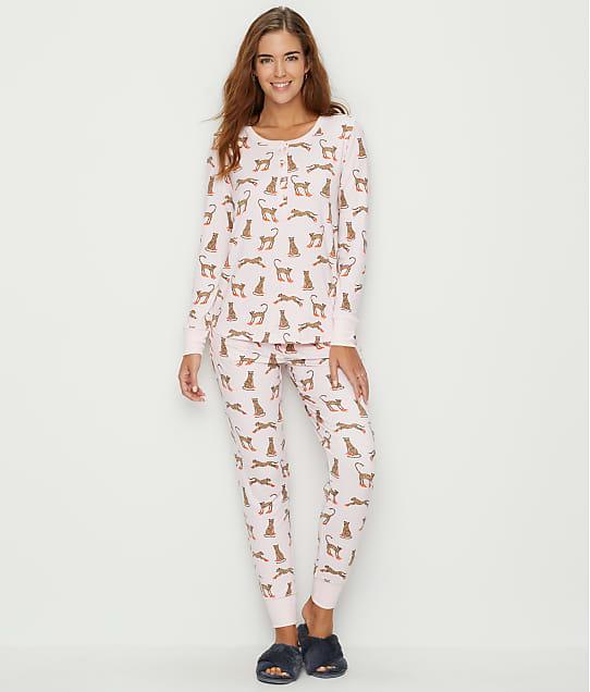 kate spade new york Cat Shoes Jersey Pajama Set in Cat Shoes KS91850F-CAT