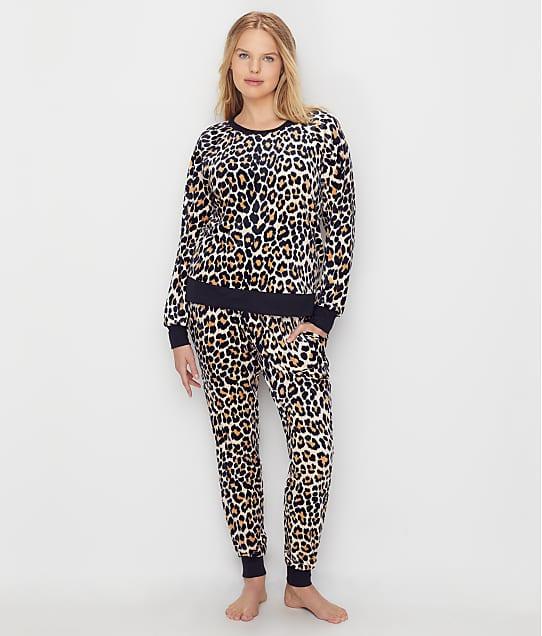 kate spade new york Velour Jogger Pajama Set in Cheetah KS91851F-CTH