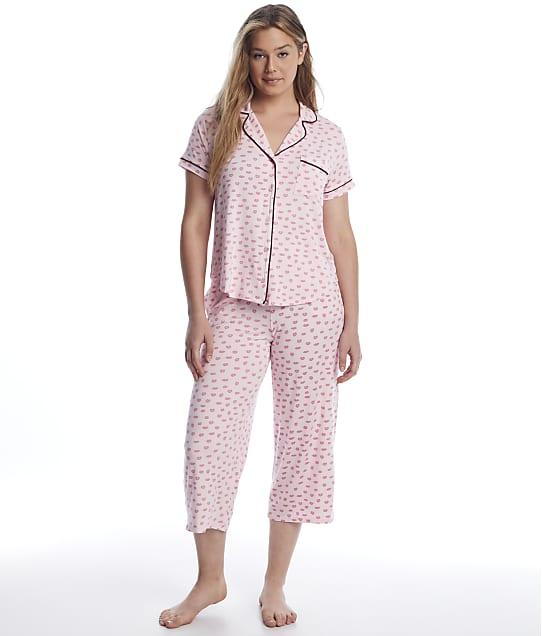 kate spade new york: Pucker Up Modal Cropped Pajama Set