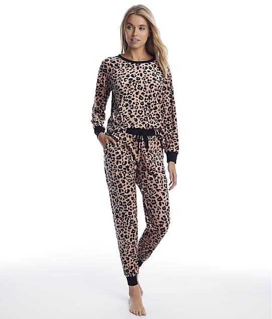 kate spade new york: Leopard Velour Pajama Set