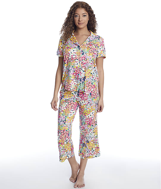 kate spade new york: Modal Knit Cropped Pajama Set
