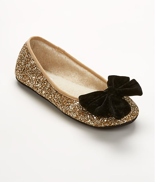 kate spade new york: Sussex Glitter Ballet Slippers