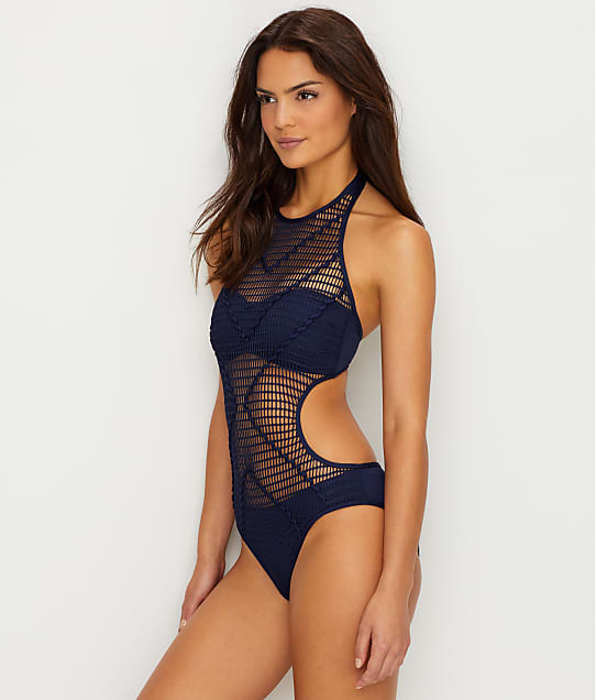 5359c5b4fba Kenneth Cole Hall Of Fame High Neck Monokini | Bare Necessities ...