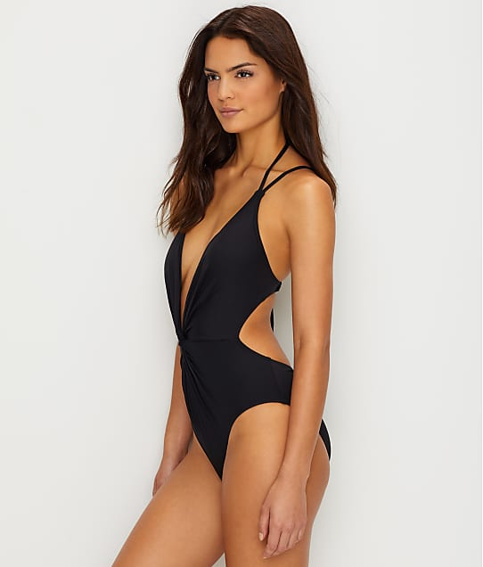Kenneth Cole: Sexy Solid Wire-Free Twist Monokini