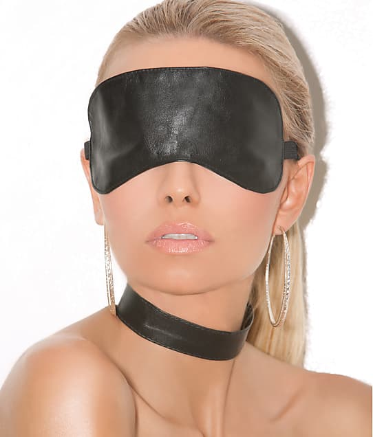 Elegant Moments: Leather Blindfold