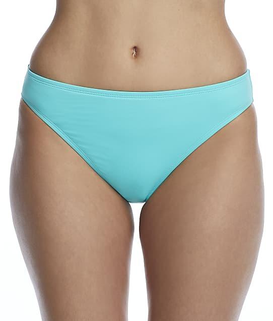 La Blanca Island Goddess Bikini Bottom in Aquamarine LB0IG93