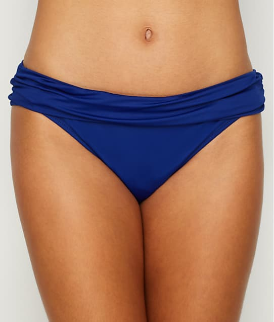La Blanca: Island Goddess Banded Hipster Bikini Bottom