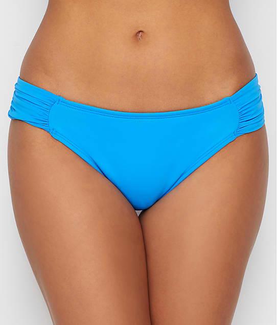 57d2a4affe6 Island Goddess Shirred Hipster Bikini Bottom