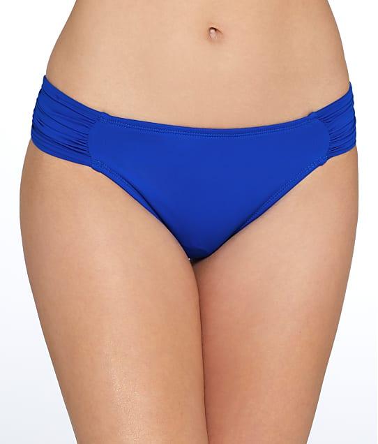 La Blanca: Island Goddess Shirred Hipster Bikini Bottom