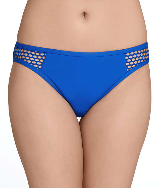 La Blanca: All Meshed Up Bikini Bottom