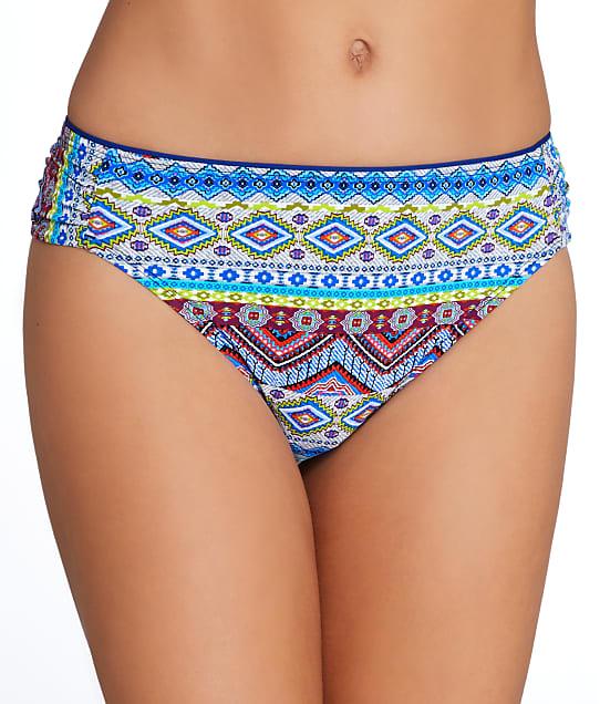 La Blanca: Tapmastery Shirred Bikini Bottom