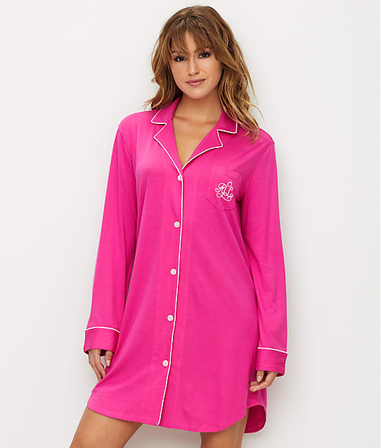 Lauren Ralph Lauren: Plus Size Hammond Knits Sleep Shirt