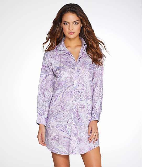 Lauren Ralph Lauren: Paisley Sateen Sleep Shirt