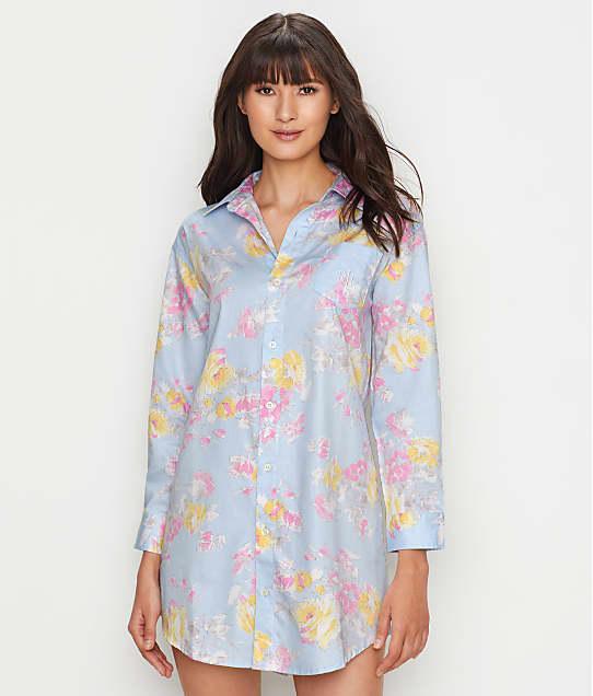 Lauren Ralph Lauren: Floral Print Woven Sleep Shirt