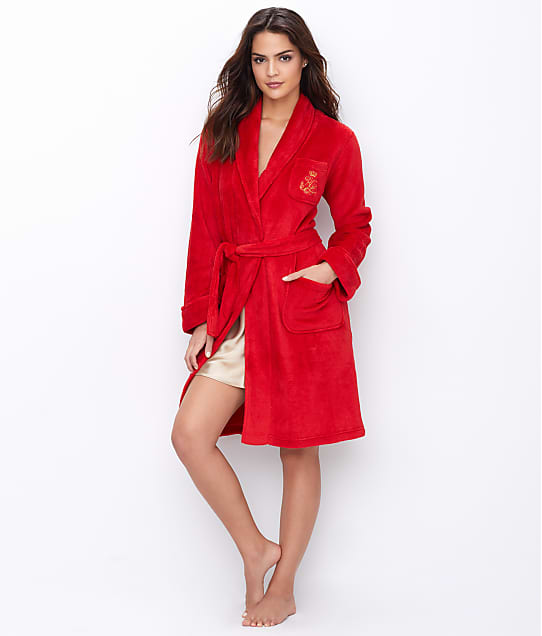 Lauren Ralph Lauren: Short Shawl Collar Robe