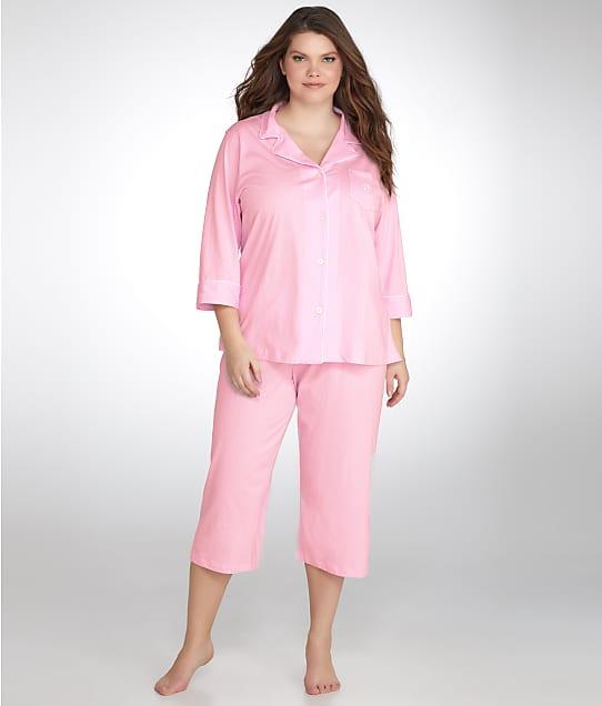 Lauren Ralph Lauren: Classic Knit Pajama Set Plus Size