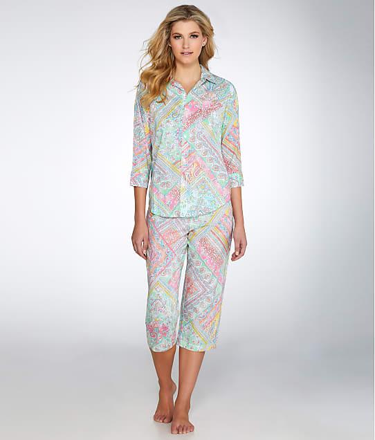 Lauren Ralph Lauren: Classic Knit Capri Pajama Set