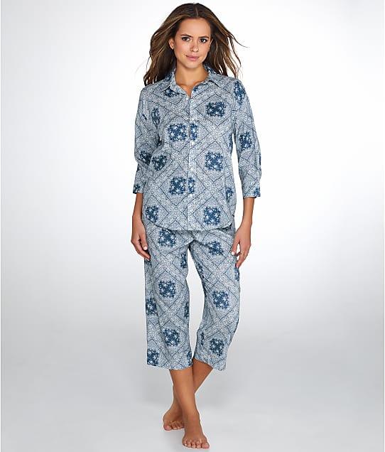 Lauren Ralph Lauren: Bandana Capri Knit Pajama Set