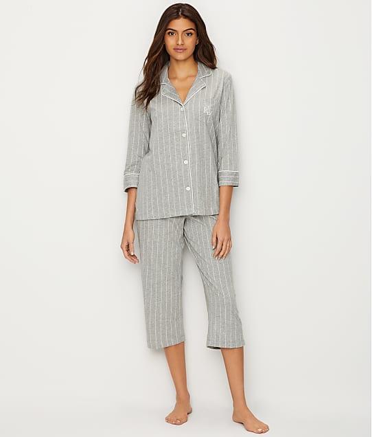 Lauren Ralph Lauren: Further Lane Capri Knit Pajama Set