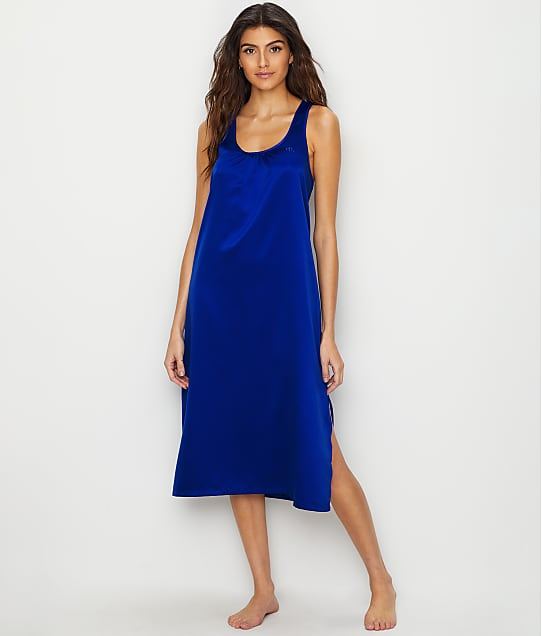 Lauren Ralph Lauren: Racerback Satin Night Gown