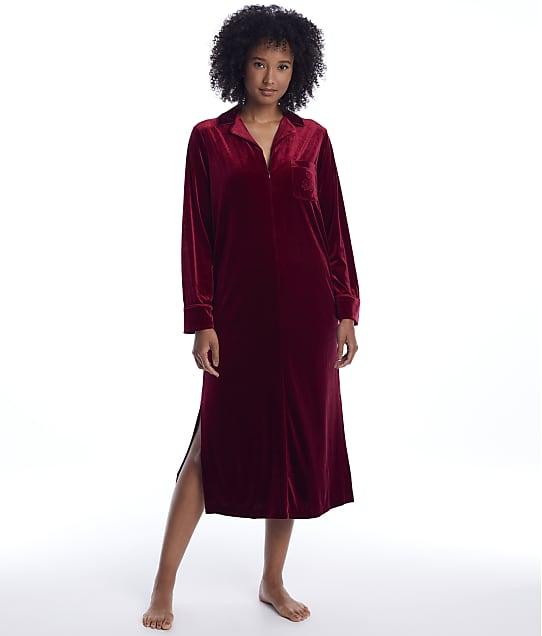 Lauren Ralph Lauren: Berry Velvet Caftan