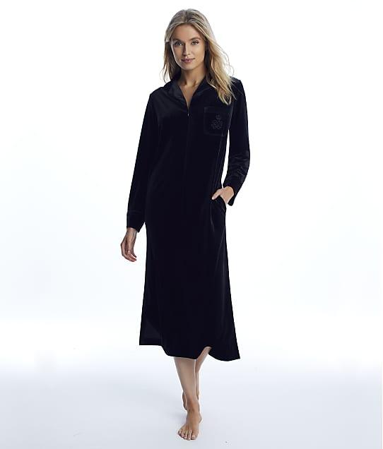 Lauren Ralph Lauren: Black Velvet Caftan