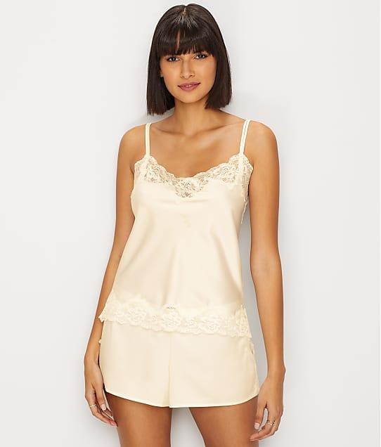 Lauren Ralph Lauren Siganture Satin Cami Pajama Set in Ivory LN11684