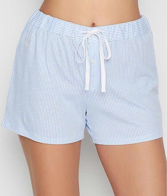 Lauren Ralph Lauren: Pinstripe Jersey Knit Boxer Shorts