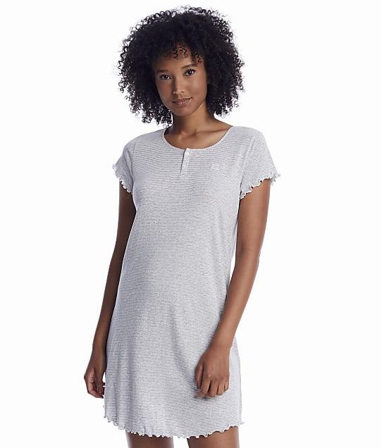 Lauren Ralph Lauren: Heather Striped Knit Sleep Shirt