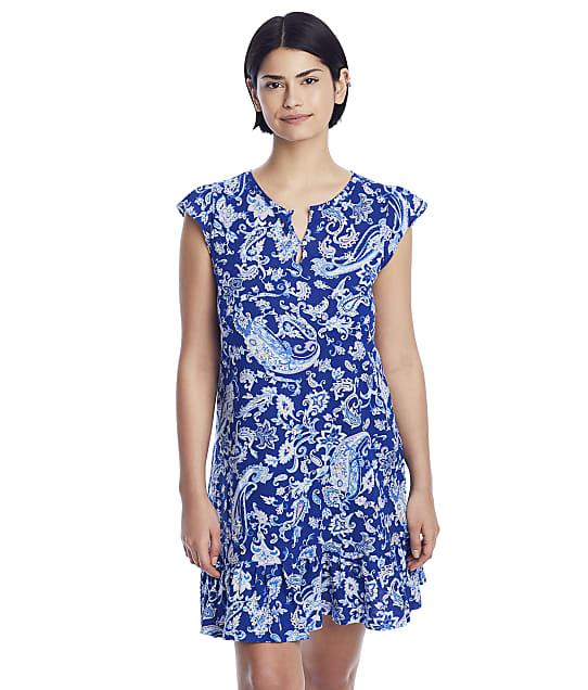 Lauren Ralph Lauren: Flutter Sleeve Keyhole Knit Gown