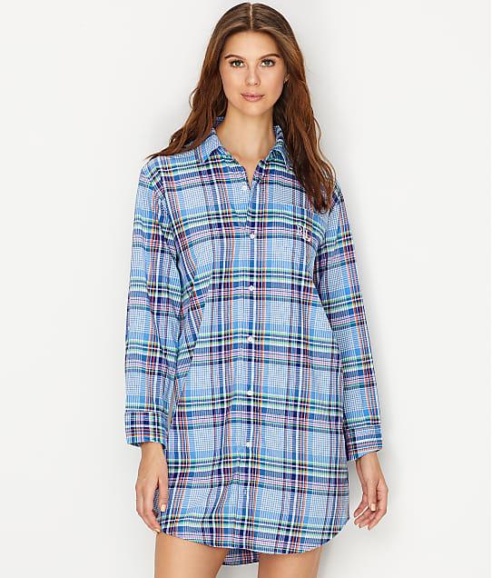 Lauren Ralph Lauren: His Shirt Plaid Woven Sleep Shirt