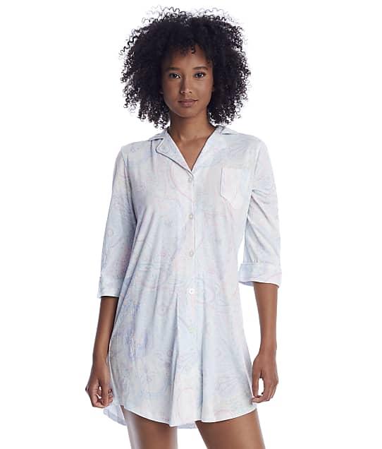 Lauren Ralph Lauren: Mint Paisley Woven His Shirt Sleep Shirt