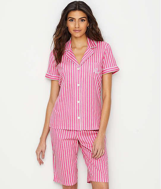 Lauren Ralph Lauren: Cotton Bermuda Pajama Set