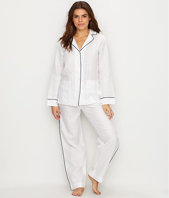 Lauren Ralph Lauren: Linen Pajama Set