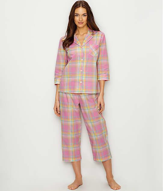 Classic Woven Pajama Set by Lauren Ralph Lauren