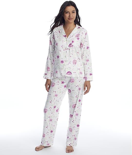 Lauren Ralph Lauren: Ivory Floral Knit Pajama Set